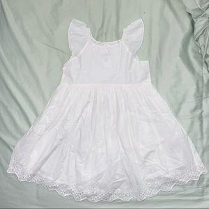GAP White Eyelet Dress (Baby Bundle)